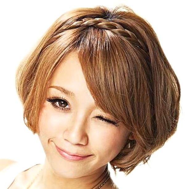 Прически на средние волосы косы своими руками cхемы.