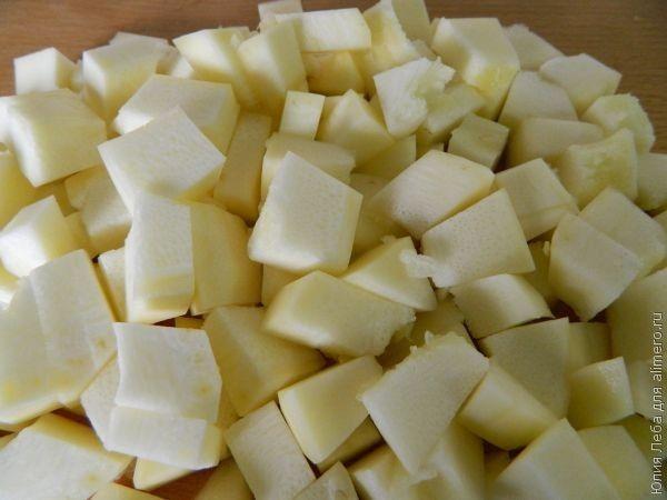 Кабачок под сыром