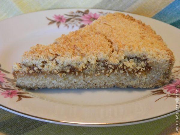 Как сделать тертый пирог 151