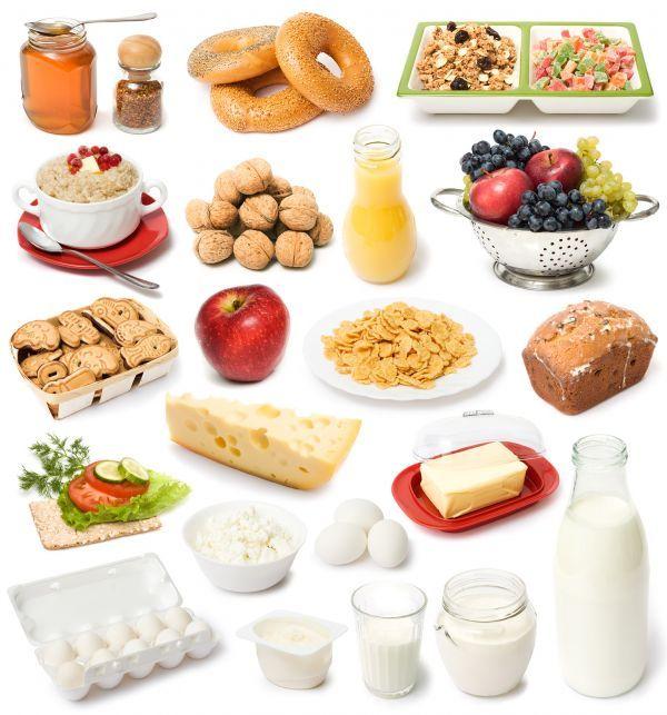 принципы раздельного питания для похудения в таблице