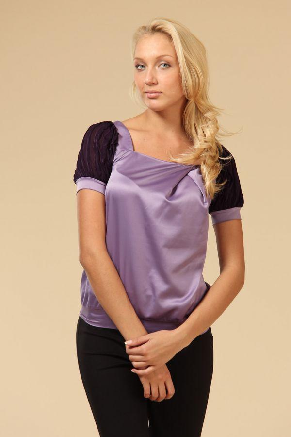 Блузка Из Атласа Для Полных С Доставкой