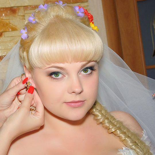 Свадебные прически с фатой / О свадьбе