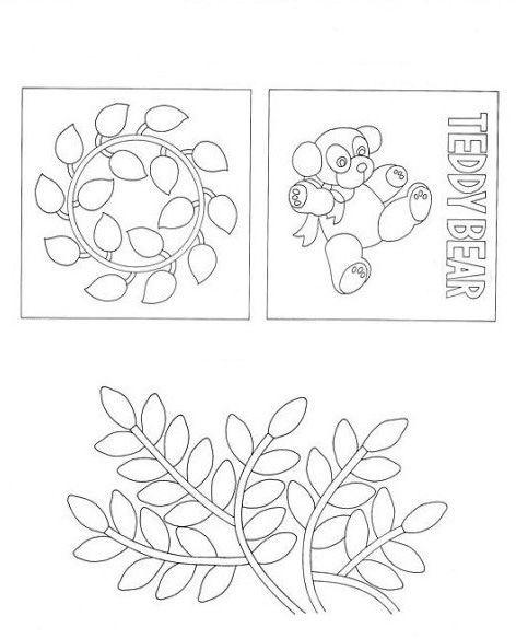 Схемы с листиками довольно просты в исполнении и красивы в готовом виде. С их помощью можно выучить с малышами много оттенков жёлтого, красного, зелёного цветов.