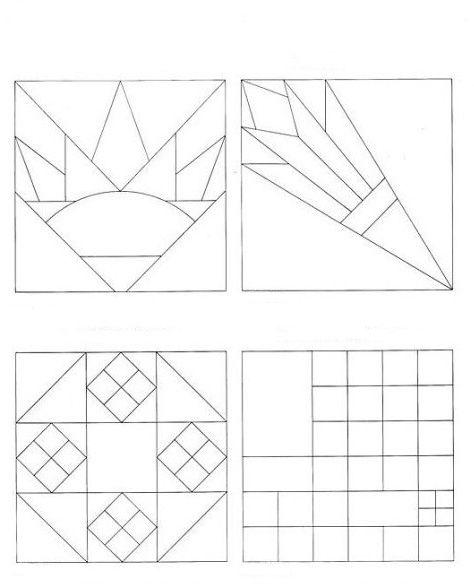 В композициях, созданных по этим схемам, будет хорошо смотреться комбинация из различных по фактуре видов ткани.