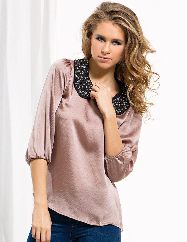 Модели Блузок Из Атласа, Боди Блузки Женские