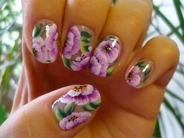 Дизайн на ногтях китайская роспись фото