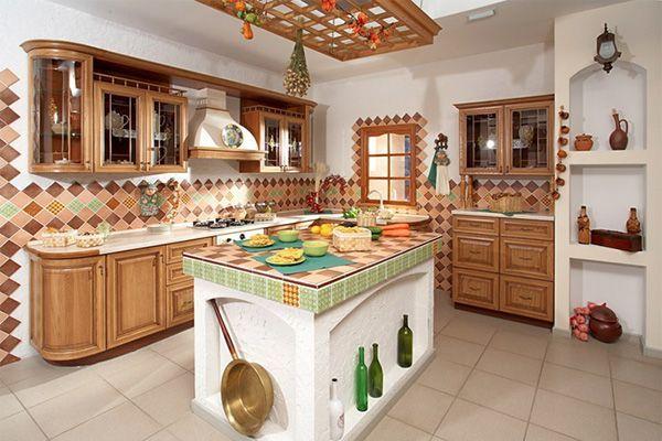 Дизайн кухни в этно стиле