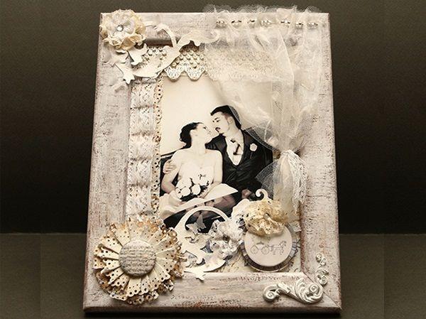 Фото Красивая рамка для фотографии своими руками