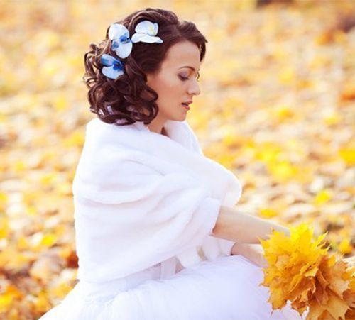 Прически на средние волосы на свадьбу / О свадьбе