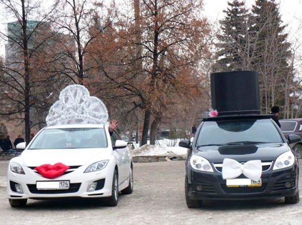Украшение свадебного автомобиля / О свадьбе