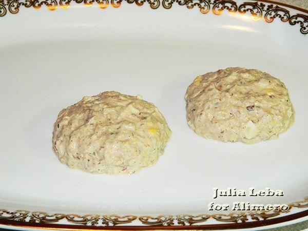 Праздничный салат Ёлочные шары