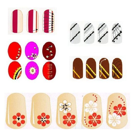 Рисунки на ногтях в домашних условиях схема для начинающих