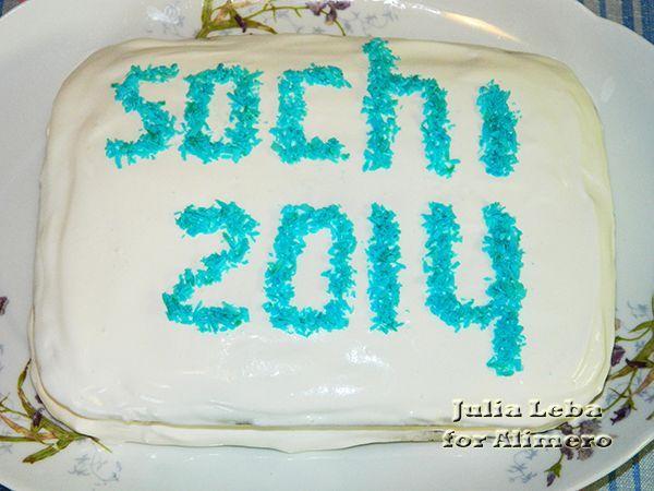 Быстрый торт к открытию Олимпиады «Сочи 2014»