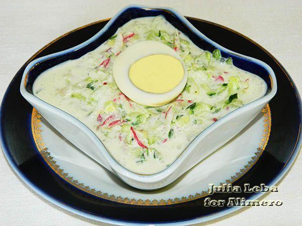 Огуречные салаты 5-минутки. Три варианта