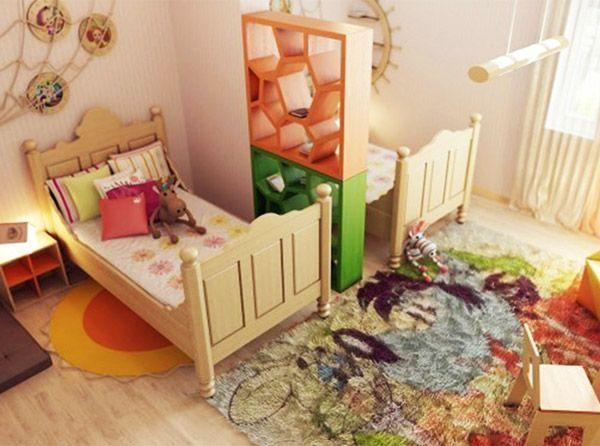 В 2-комнатной квартире выделить детям большую комнату бывает сложно. А вот в 3-комнатной это сделать намного легче. Наименьшую спальню можно сделать спальней взрослых, а для детей выбрать наиболее светлую комнату из оставшихся двух.