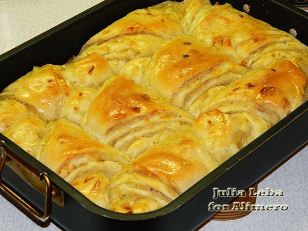 Простой луковый пирог рецепт с фото без дрожжей