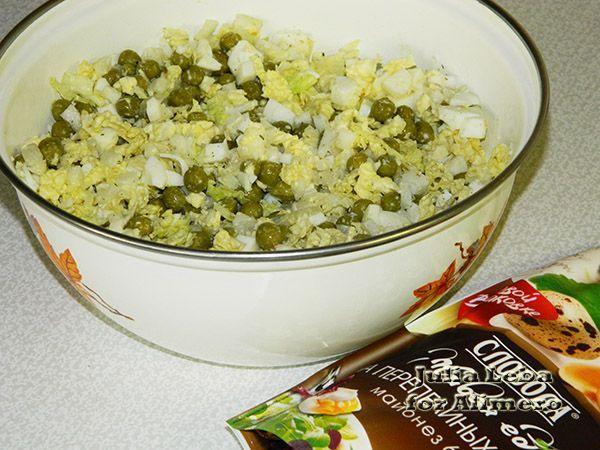 Лёгкий салат из пекинской капусты без майонеза рецепты