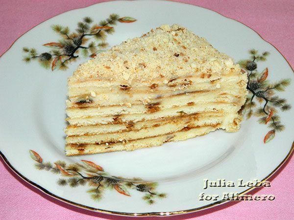 Нежный молочный торт