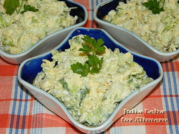 Хрустящий салат с сыром
