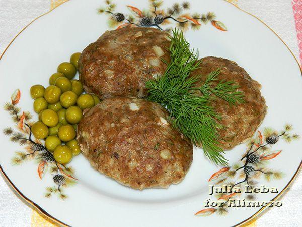 Запечённые мясные котлеты с горчицей