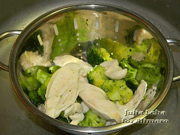 Маффины с курицей и овощами