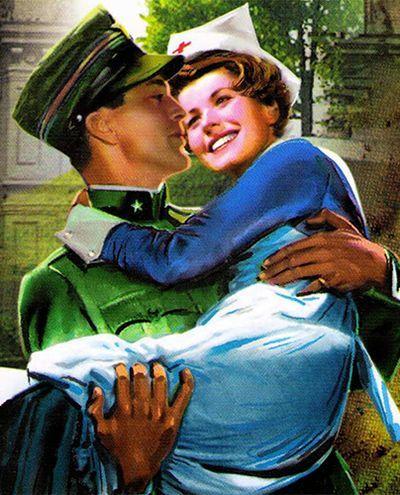 Эрнест Хемингуэй «Прощай, оружие!». Итало-австрийский фронт, 1917 год. Автор противопоставляет безумству войны любовь главных героев Генри и Кэтрин. Роман потрясает отсутствием «хэппи энда», ярко и сильно описанной жизнью на войне.