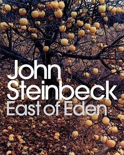 Джон Стейнбек «На восток от Эдема» («К востоку от рая»). Роман, одновременно хорошо отображающий и бытовые, и философские аспекты. Темы добра и зла, света и тьмы, красоты и уродства показаны на примере двух семейств из Калифорнии. Я не могла оторваться от этой книги!