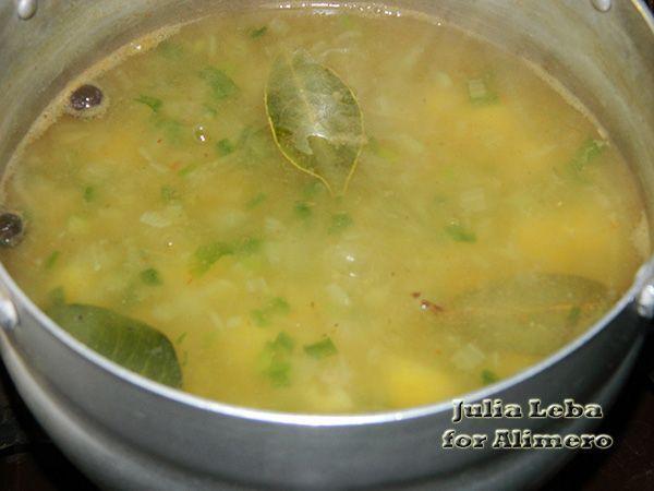 Картофельный суп-пюре с луком