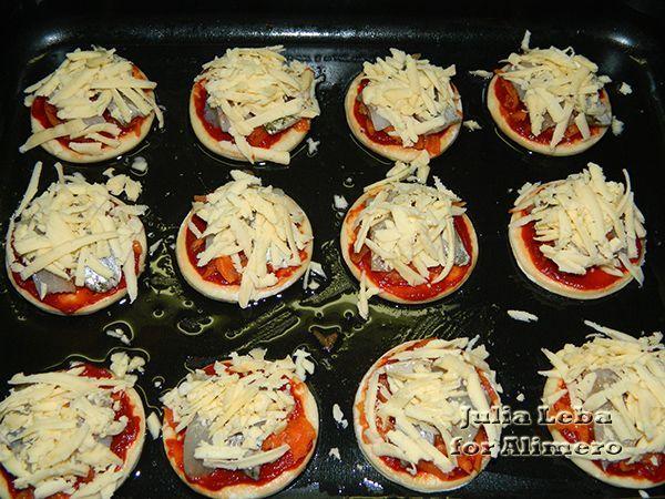 Мини-пиццы с пресервами