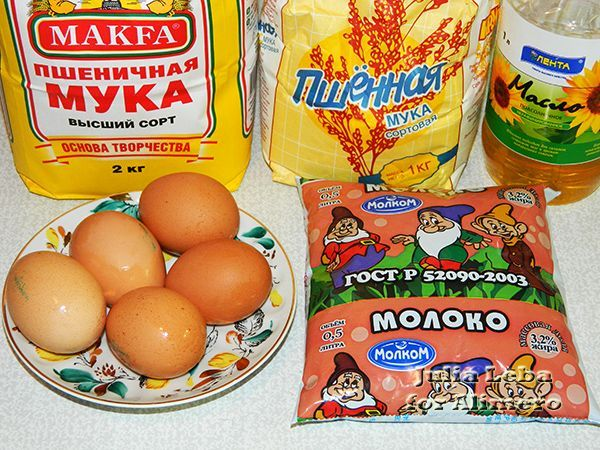Масленица рецепт блинов