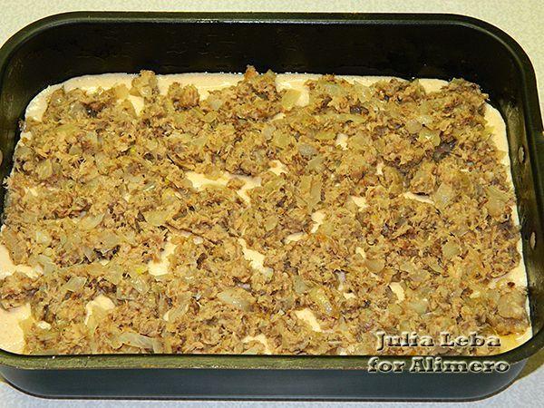 Пирог на майонезе с консервами рецепт