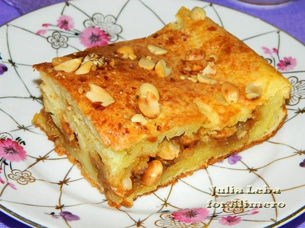 Торт с орехами и сгущенкой – многовариантное лакомство | Застолье ... | 450x600