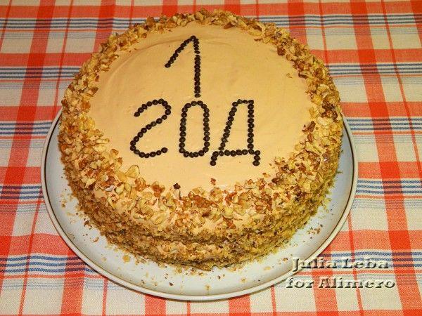 Рецепт классического орехового торта