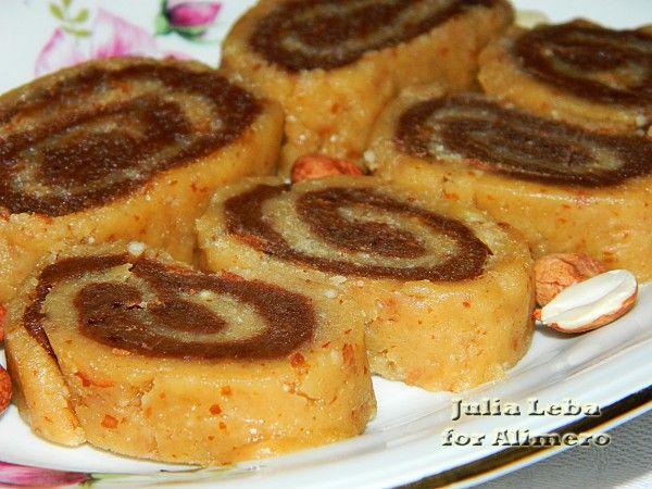 Колбаска из печенья