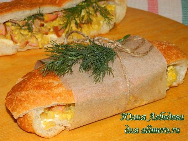 Бутерброд с чиабаттой
