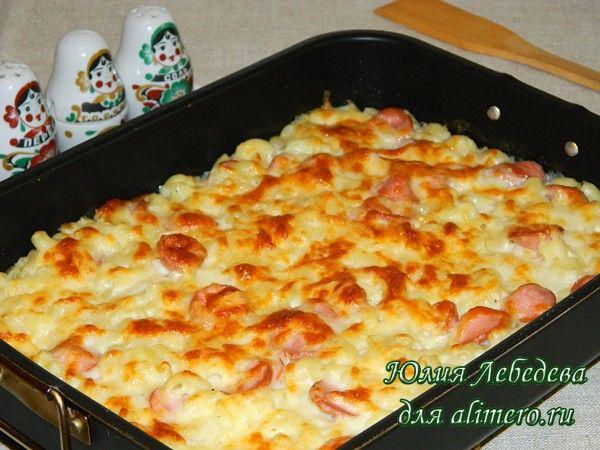 рецепт картошки с сосисками в духовке