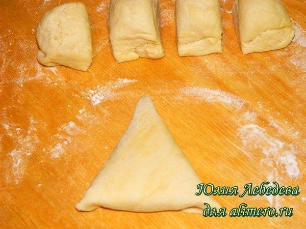 Треугольные пирожки