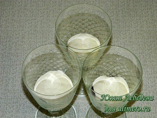 Десерт со сметаной
