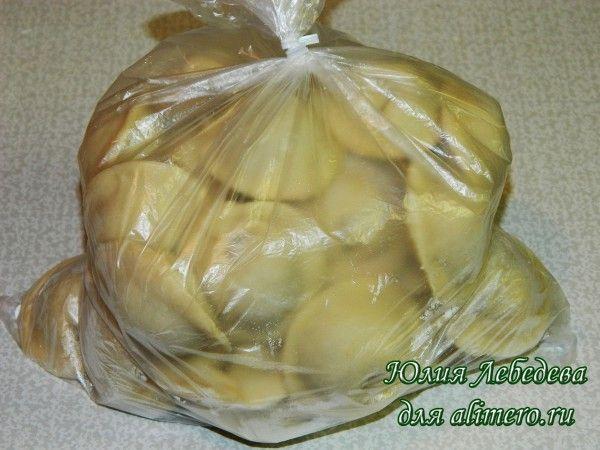 Заморозка домашних пельменей
