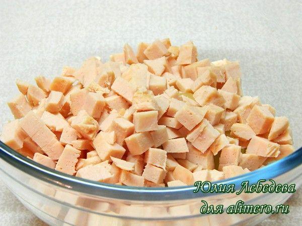 Тарталетки с ананасом