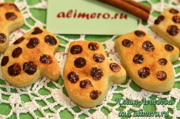 Печенье с корицей