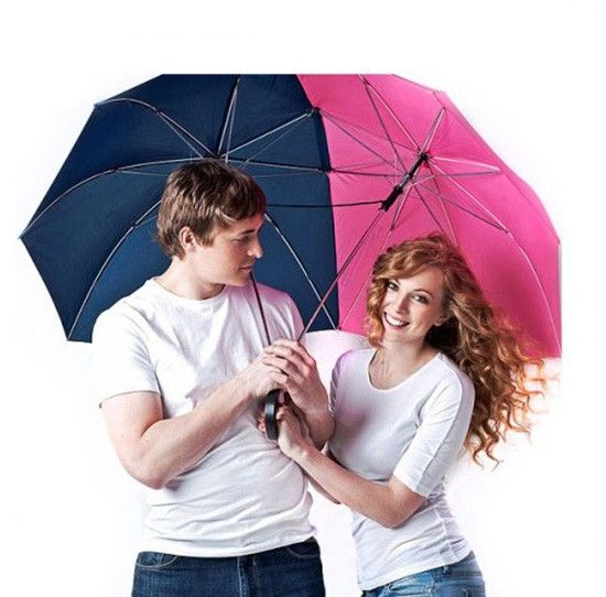 Подарки для влюбленных — зонт для двоих