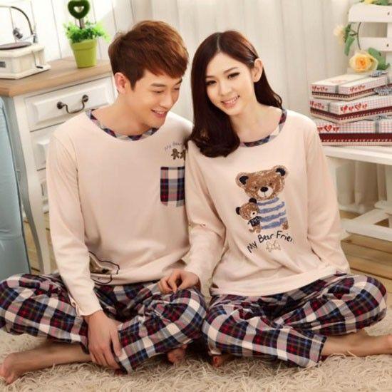 Подарки для влюбленных — пижама для пары