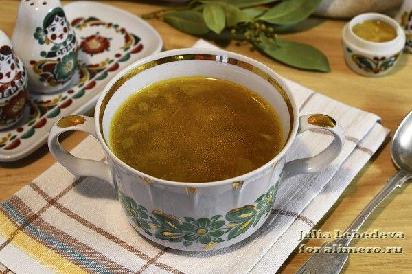 вкусный суп с опятами рецепт с фото
