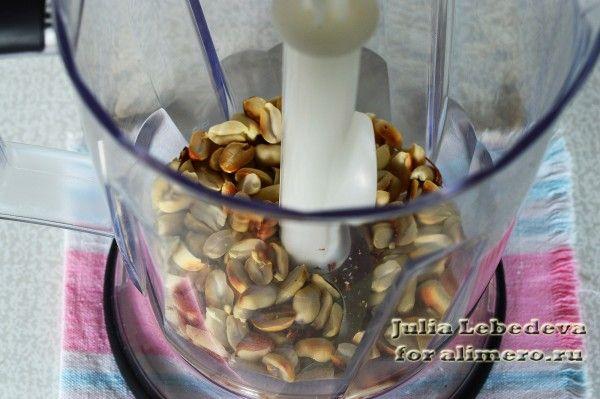 Полезные конфеты с арахисом