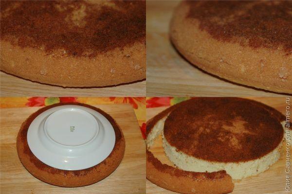 Как сделать торт с заварным кремом