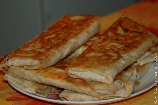 Армянский лаваш с начинкой (пошаговый рецепт с фото) 25