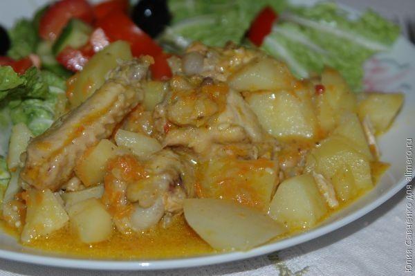 блюда из крылышек куриных рецепты с фото