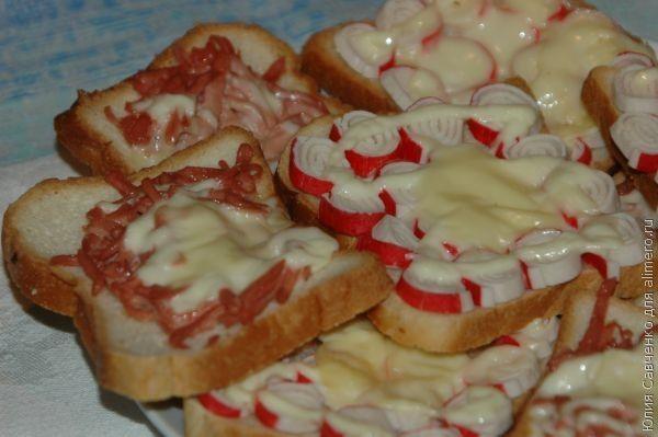 Бутерброды с вареной колбасой рецепты с фото
