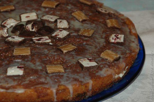 """Торт """"Александровский"""" с творожным кремом"""